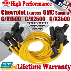 Spark Plug Wires For Chevy C k1500 C k2500 C k3500 1996 1997 1998 1999 V8 5 7l