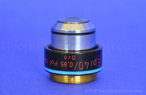 Carl Zeiss Epi 40x 0 85 160 Oil Polarizing Microscope Objective