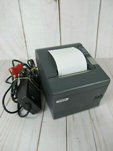 Epson Pos Thermal Receipt Printer Tm t88iv M129h Tested Good Condition