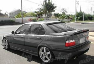 Vip Real Carbon Fiber Rear Window Roof Spoiler Wing Fit 92 98 Bmw E36 Coupe