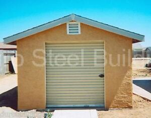 Durobeam Steel 20x20x10 Metal Building Prefab Diy Garage Storage Shop Kit Direct