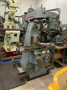 U s Machine Tool Model Vt Vertical Milling Machine Item 1068