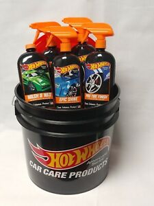 Father s Day Gift Pack Hot Wheels Pro Premium Car Care Bucket Kit