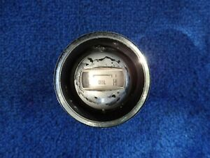 1964 1966 Ford T Bird Thunderbird Parts Oil Gauge With Bezel