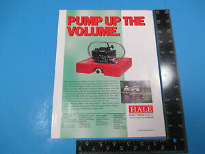Vintage Hale Pump Up The Volume Insert The Chief Floating Pump 1993 M6625
