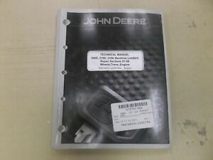John Deere 300d 310d Backhoe Loader Transmission Engine Repair Manual Tm1497