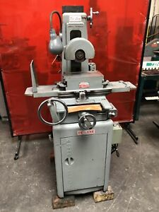 Boyar Schultz 612 Surface Grinder With Hanchett Hr 612 Magnetic Chuck Lube Unit
