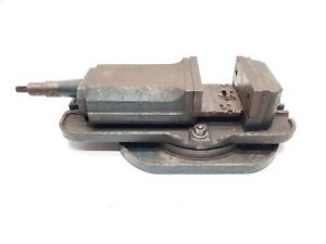 6 Machine Milling Vise With Swivel Base Mill Cnc Vice