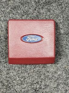 1984 Ford Bronco Ll Or Ranger Steering Wheel Horn Button Pad Red