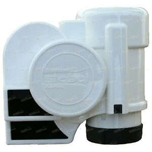 Stebel Nautilus Compact Tuning Marine Boat Air Horn 12volt White Gpntc Nm1