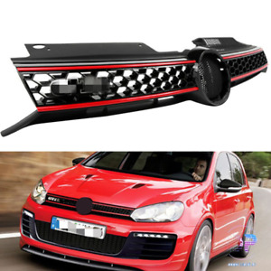 For 2010 2011 2012 2013 Vw Golf Gti 2014 Jetta Mk6 Tdi Front Grille Grill Us