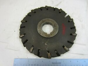 Ok Tool Co Horizontal Mill Milling Cutter 10 X 3 4 X 2 Arbor 20 Heads