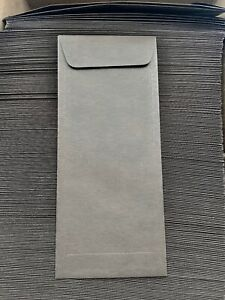 Paper Source Chocolate Brown Long 10 Envelopes Size 4 1 8 X 9 1 2 New In Box