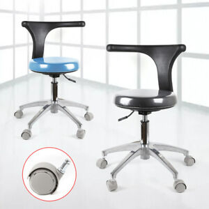 Medical Stool Dental Assistant Chair With Arm adjustment Lever handle For Lift