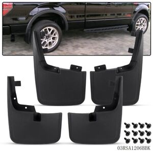 For 2015 2018 Ford F150 Front Rear Splash Mud Guards Flaps Without Fender Flares