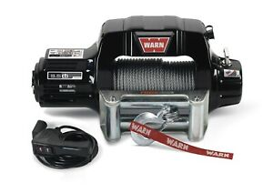 Warn 97550 9 5cti Winch With 9500 Lb Capacity Roller Fairlead 125 Ft Rope