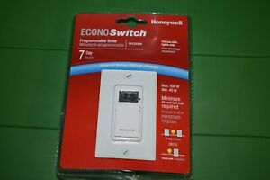 Honeywell Econo Switch Programmable Light Timer 7 Day Rpls530a