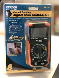 Extech Mn15a Digital Mini Multimeter