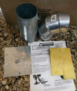 New Maytag Exhaust Duct Kit For Dryers Part 304652