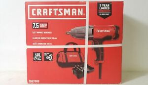 Craftsman Cmef900 7 5 Amp 1 2 Corded Impact Wrench Kit