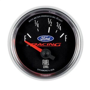 Autometer 880075 Ford Racing Series Electric Fuel Level Gauge