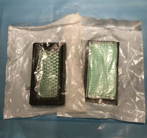 Pair qty2 Of Generac 078601 Air Filter Element Cleaner 190 191 220 Engine