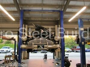 Durobeam Steel 40x48x14 Metal Building Made To Order Car Lift Garage Shop Direct