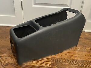 99 02 Gm Chevy Truck Silverado Tahoe Oem Gray Center Console Trim Panel Shell