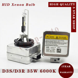 2x D3s D3r 35w 6000k Hid Xenon Headlight Bulb Fit Philips For Osram Audi Ford Vw