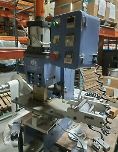 Air Hydraulics Co Inc Hot Stamp Press With Foil Advance System Includes Manual