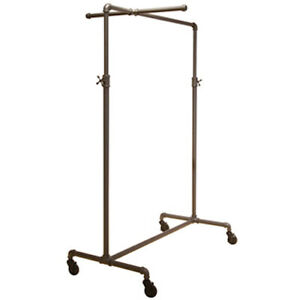 Display Clothing Rack 41 W X 22 D X 44 72 H Inches With One Cross Bar