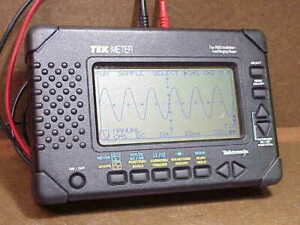 Tektronix Thm 565 Tekmeter Kit Digital Scope And Multimeter