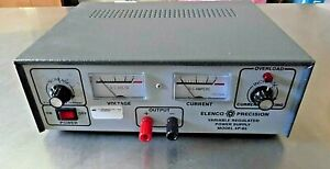 Elenco Precision Xp 85 Adjustable Regulated Power Supply