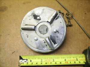 Vintage Temco Mfg Fuel Gas Cap Military Wwii Jeep Dodge Truck