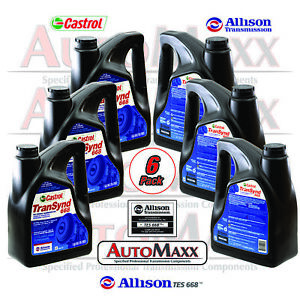Allison Transynd Full Synthetic Transmission Fluid 1gal 6 pack