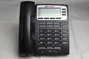 Allworx 9204g Voip 4 Button Display Business Office Phone W Handset And Stand
