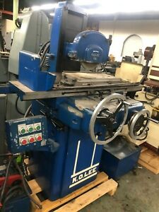 K o Lee 8 X 18 Surface Grinder With Coolant Hydraulic Table