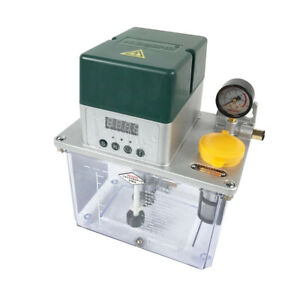 Auto Lubrication Pump Digital Electronic Timer Automatic Oiler 220v 3l Premium