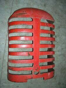 Vintage Massey Harris 44 Row Crop Tractor grille Assembly 1950