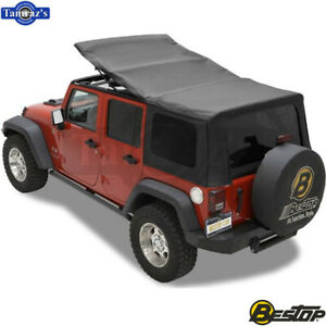 2007 2009 Jeep Wrangler Unlimited Incl Tinted Windows Sailcloth Replace A Top