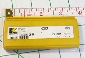 Kennametal Indexable Solid Carbide Inserts Nr3078l K68 Open Box 3 Pcs Left