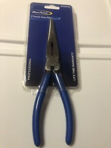 Blue Point Tools 8 Needle Nose Pliers As Sold By Snap On