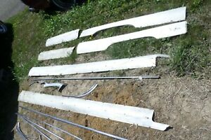 1962 Oldsmobile Starfire Exterior Aluminum And Stainless Body Trim Lot Best Deal