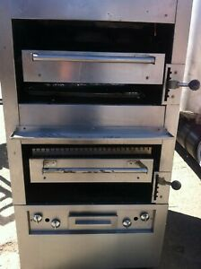 Restaurant Double Broilers Nat Gas And Salamandra Cheese Melter Drck