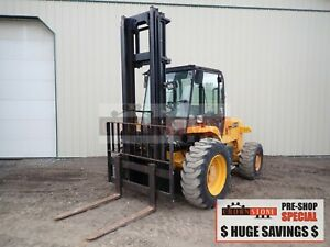 2006 Jcb 930 Rough Terrain Forklift Cab 4x4 Side Shift Syncro 810 Hours 74 Hp