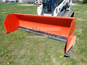 2015 Bobcat 10 Snow Pusher Attachment For Skid Steer Loaders Ssl Quick Attach