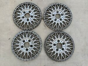 4 Bmw E39 Oem Bbs Rc090 Style 5 17x8 Et20 Faces Only