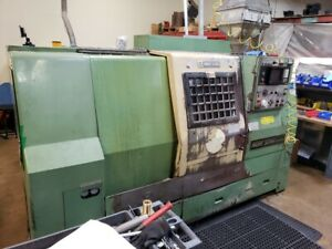 Used Mori Seiki Sl 25 mc Cnc Turning Center Lathe Fanuc 10t Live Tool Tailstock