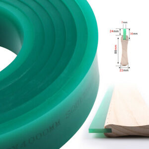 Usa Green 70 Duro Durometer Silk Screen Printing Squeegee Blade 6 Ft Feet Roll