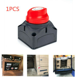Car Boat Battery Selector Isolator Disconnect Rotary Switch Cut On Off Kits